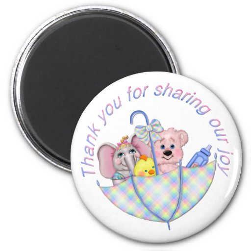 Sweet Expectations 2 Inch Round Magnet