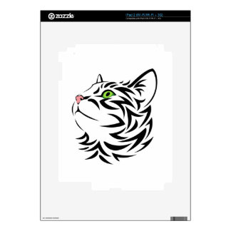 Sweet Face Kitty Cat 3 Skins and Decals Skin For iPad 2