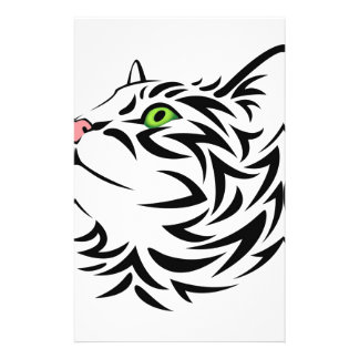 Sweet Face Kitty Cat 3 Stationery