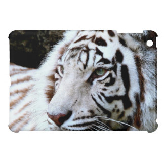 Sweet Faced White Tiger iPad Mini Cover