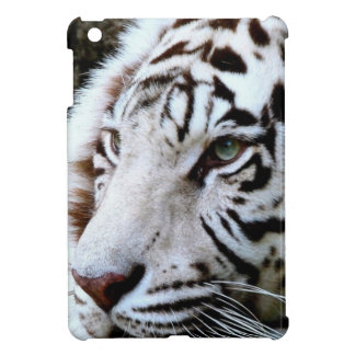 Sweet Faced White Tiger iPad Mini Cases
