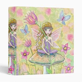 Sweet Fairy and Butterflies Binder