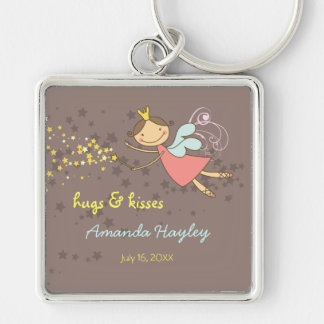 Sweet Fairy and Stars Fun Thank You Gift Keychain