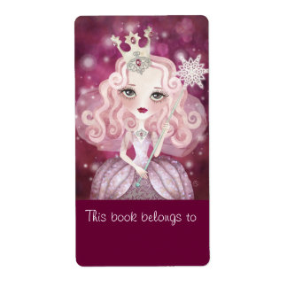 Sweet Fairy Bookplates Labels