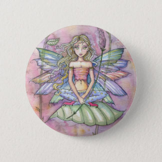 Sweet Fairy Button Pin by Molly Harrison