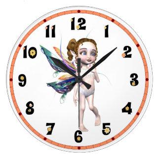 Sweet Fairy Large Clock