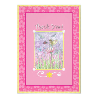 Sweet Fairy Matching Thank You Cards