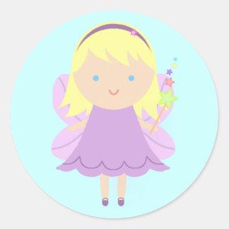 Sweet Fairy Round Sticker