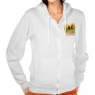 Sweet fairy with mystical background hoodie