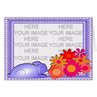 Sweet Father's Day Photo Frame Card