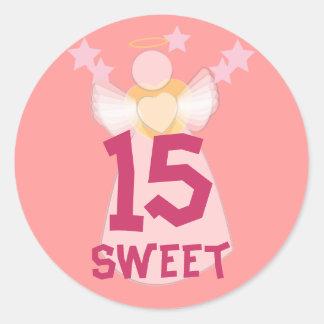 Sweet Fifteen Sticker-Customize