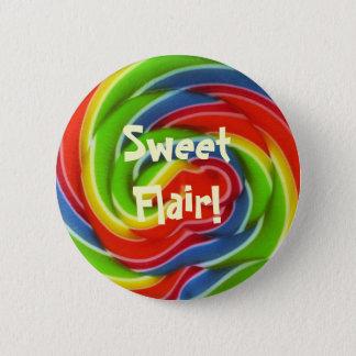 Sweet Flair Lollipop Button