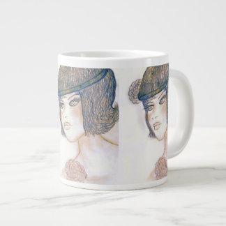 Sweet Flapper II Large Coffee Mug