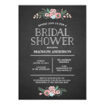 "Sweet Floral | Bridal Shower Invitation 5"" X 7"" Invitation Card"