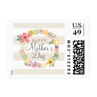 Sweet Floral Mother s Day Postage