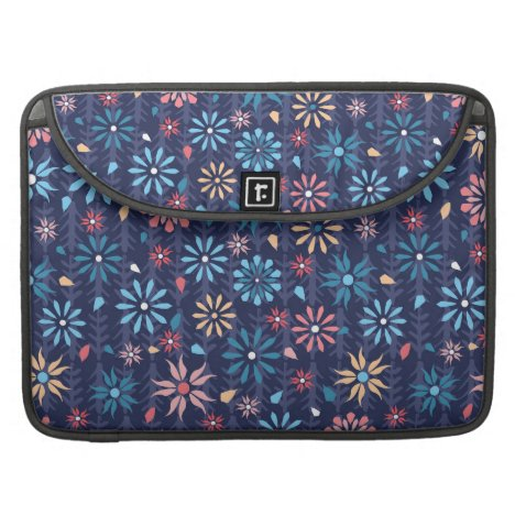 Sweet floral vintage MacBook pro sleeve