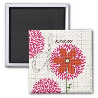 Sweet Flower Blossoms Dream Magnet