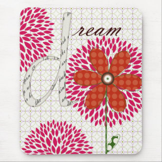 Sweet Flower Blossoms Dream Mouse Pad