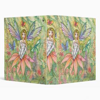 Sweet Flower Fairy with Butterflies Binder