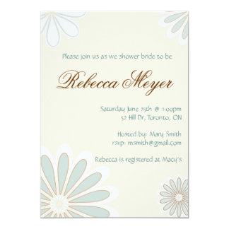 Sweet Flower Invitation