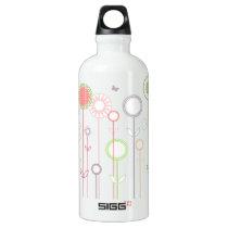 Sweet Flowers Aluminum Water Bottle