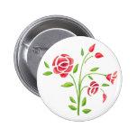 Sweet Flowers Button