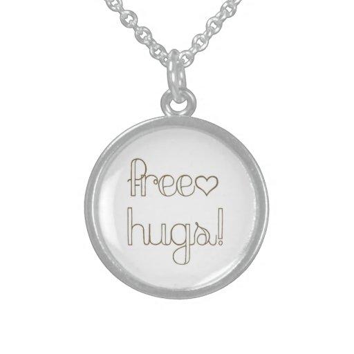 Sweet Free Hugs Heart Necklace