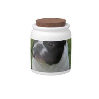 Sweet French Bulldog Candy Jars