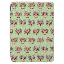 iPad Air Cover with Bulldog Phone Cases design