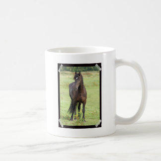 Sweet Friesian Horse  Coffee Mug