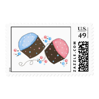 Sweet Frosted Cupcakes Postage