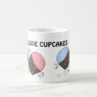 Sweet Frosted Cupcakes with Saying Coffee Mug