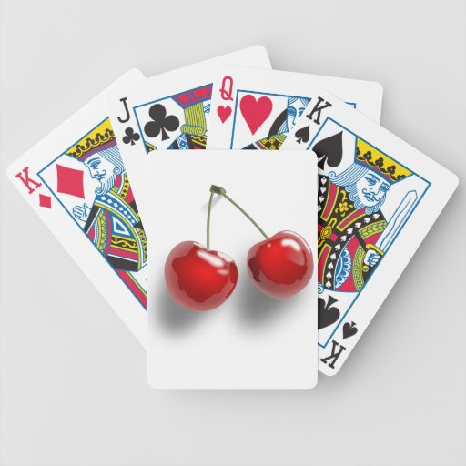 Sweet Fruit Desserts Destiny Gardens Bicycle Playing Cards