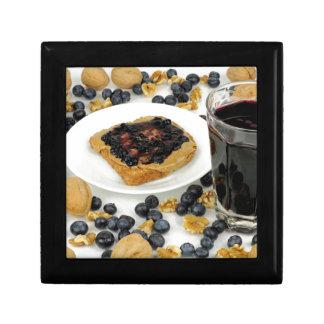 Sweet Fruit Nut Treats Keepsake Box