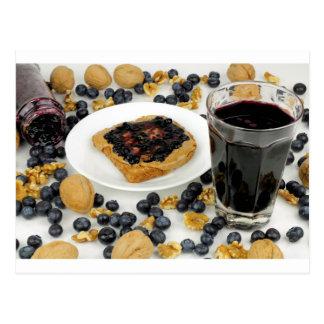 Sweet Fruit Nut Treats Postcard