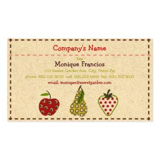 Sweet Garden Business Card