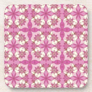Sweet Garlands Coasters Set - Lavender