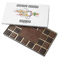Sweet Genes Inside DNA Replication Humor 45 Piece Assorted Chocolate Box
