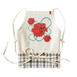 Sweet Gera Zazzle HEART Apron