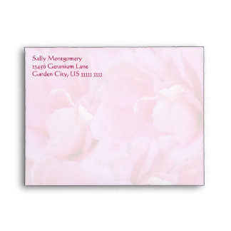 Sweet Geraniums A2 Stationary and Note Envelope