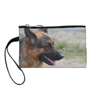 Sweet German Shepherd Dog Coin Purse