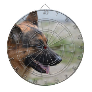 Sweet German Shepherd Dog Dart Board
