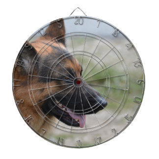 Sweet German Shepherd Dog Dartboard