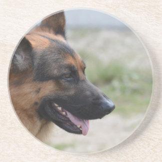 Sweet German Shepherd Dog Drink Coaster