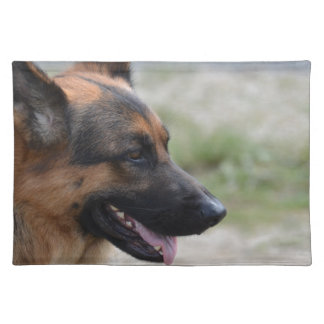 Sweet German Shepherd Dog Placemat