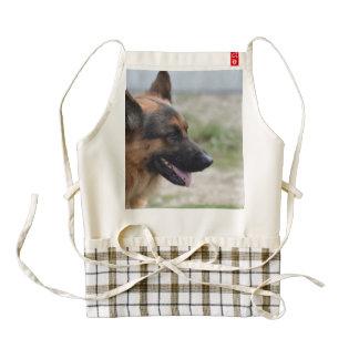 Sweet German Shepherd Dog Zazzle HEART Apron