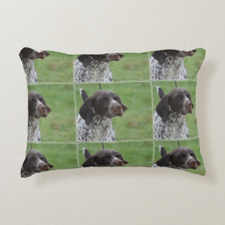 Sweet German Shorthaired Pointer Decorative Pillow
