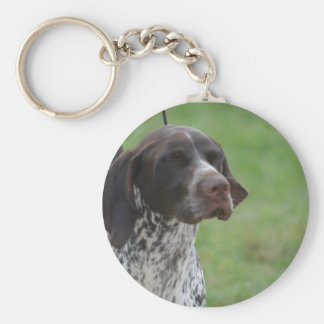 Sweet German Shorthaired Pointer Key Chains