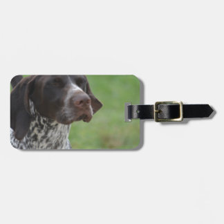 Sweet German Shorthaired Pointer Bag Tag