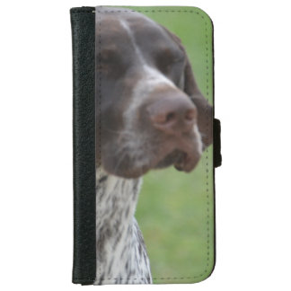 Sweet German Shorthaired Pointer Wallet Phone Case For iPhone 6/6s